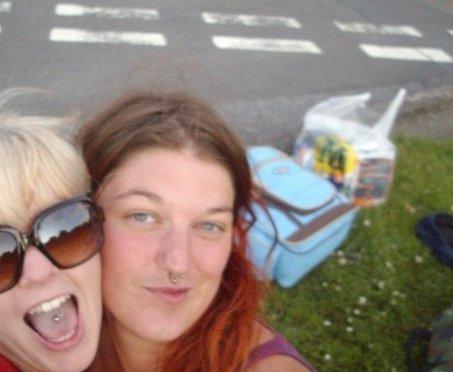 Jill and Susan's idiotic Glastonbury Adventure #1