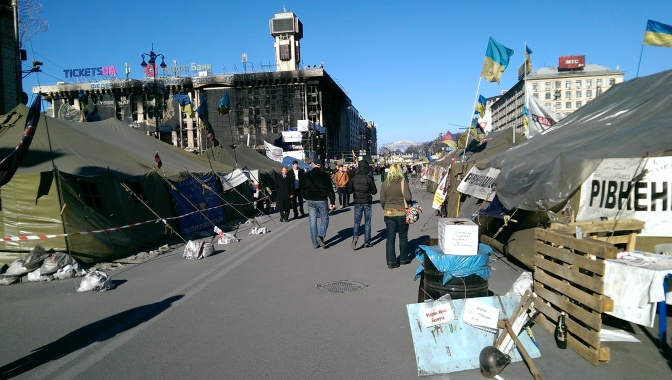 No Radiation but a Sombre Historic Moment Nonetheless – Kiev (Part 2)