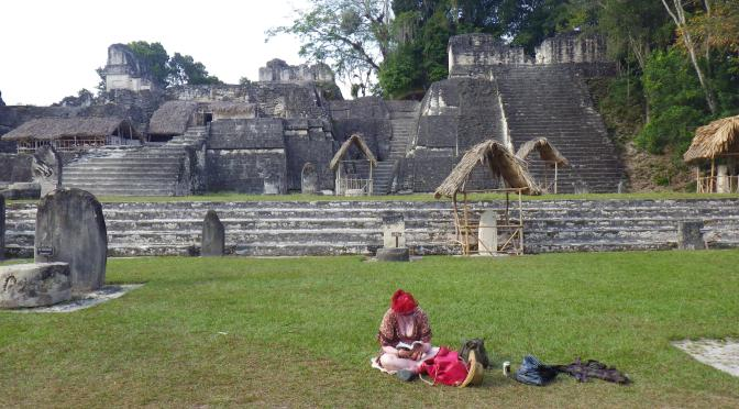 """We're just going to gan there, find a pyramid, have a beer on it, and then gan."" – Guatemala"