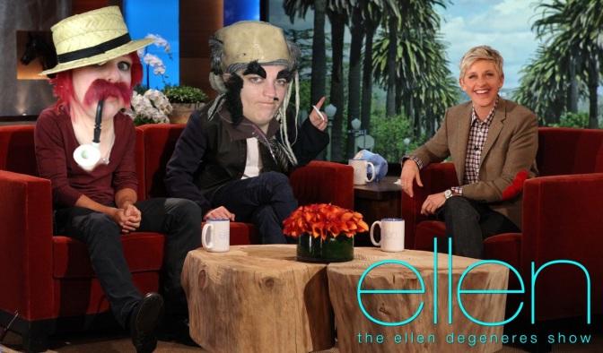 Ellen here we come!!