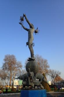 The Terry Pratchett statue