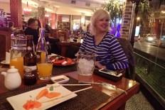 Buddha Cafe in Yerevan, bottle no. 2 of vodka