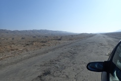 On the long, dusty road again
