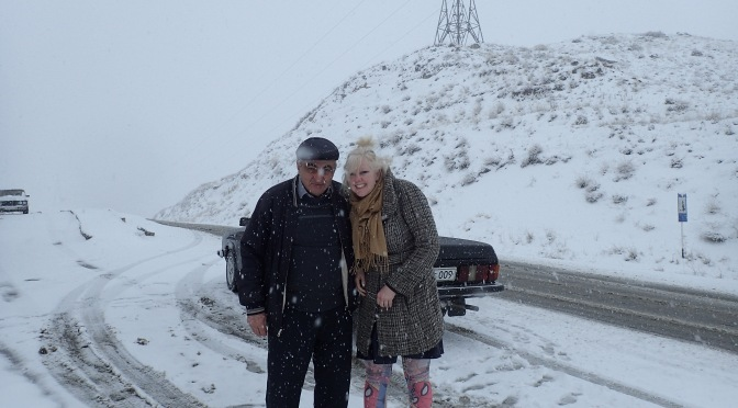 Through the ice to Titanic – Yerevan, Armenia to Vank, Nagorno-Karabakh