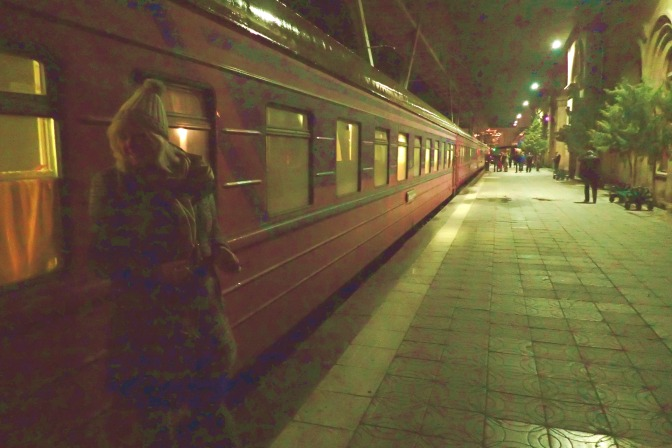 Night train marriage proposal to indecent proposal – Yerevan, Armenia to Tbilisi, Georgia